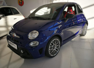 Abarth 595 do jazdy, gotowi, START